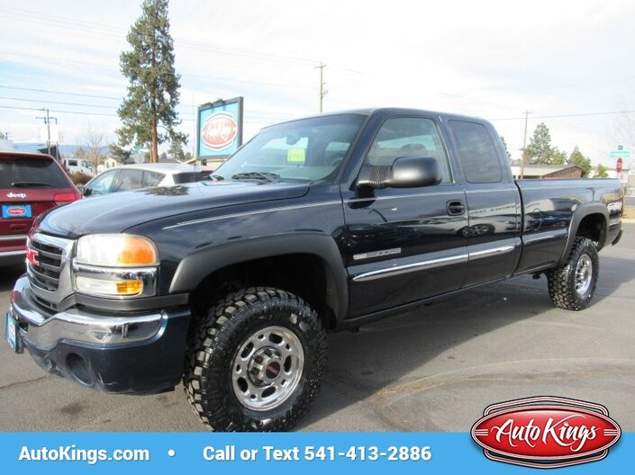 2005 GMC Sierra 2500HD Ext Cab 4WD Long Bed Bend OR