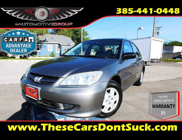 2005 HONDA CIVIC DX VP Sandy UT