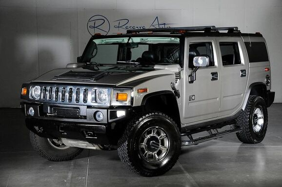 2005_HUMMER_H2_Luxury 1SC 3rd Row Seating Navigation Air Susp_ The Colony TX