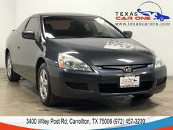 2005_Honda_Accord Coupe_EX AUTOMATIC SUNROOF STEERING WHEEL CONTROLS CRUISE CONTROL ALLOY WHEELS_ Carrollton TX