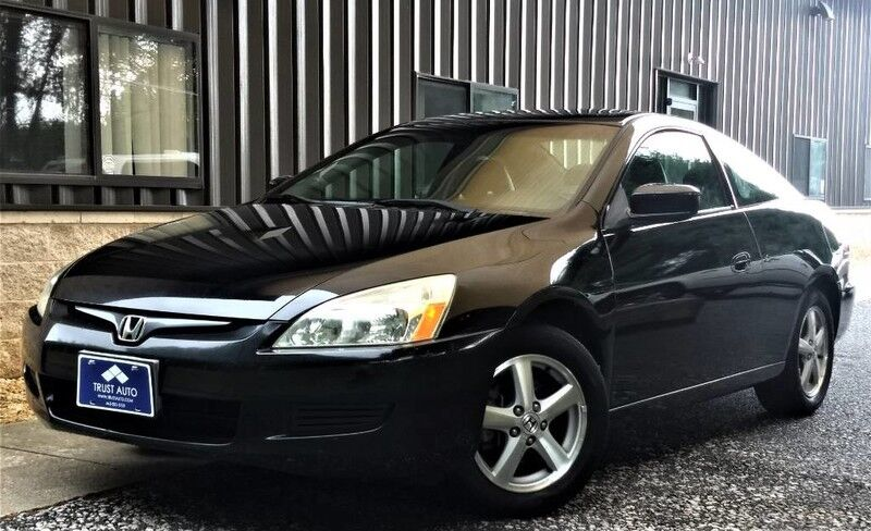 2005 Honda Accord Cpe EX Coupe with Leather and Navigation System and XM Sykesville MD