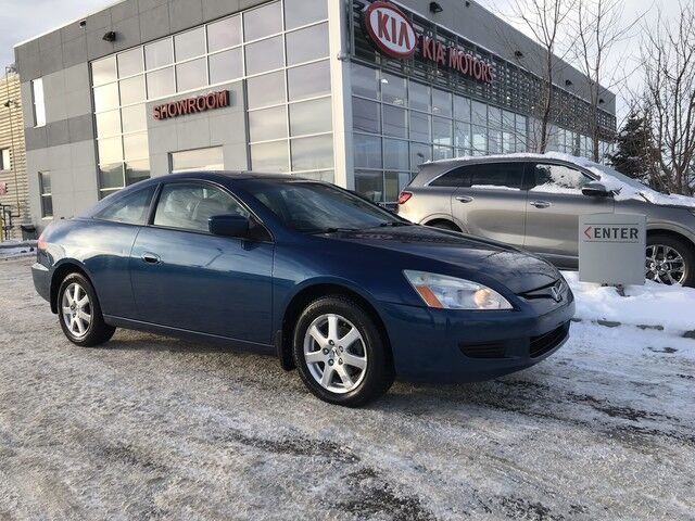 2005 Honda Accord Cpe EX FWD V6 Leather, Sunroof, Cruise Control Edmonton AB