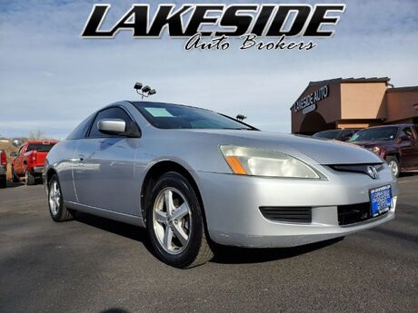 2005 Honda Accord EX Coupe AT with Leather and Navigation System and Colorado Springs CO