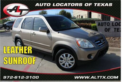 2005 Honda CR-V EX SE with LEATHER and SUNROOF Plano TX