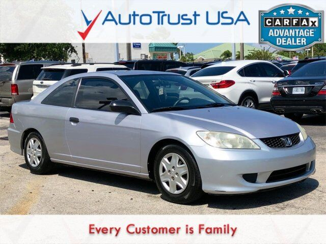 2005 Honda Civic Cpe VP Value Lot Miami FL