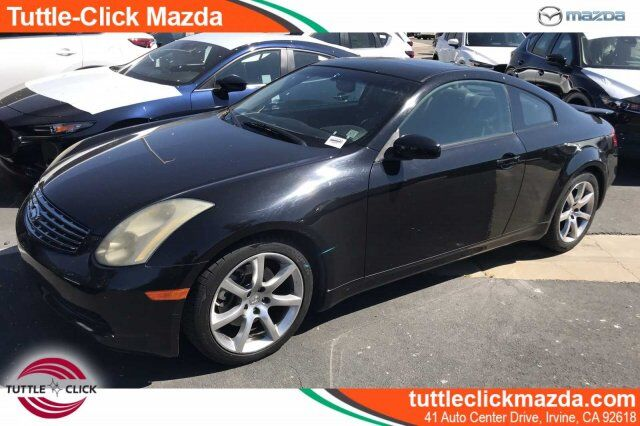 2005 INFINITI G35 Coupe 2DR CPE AT Irvine CA