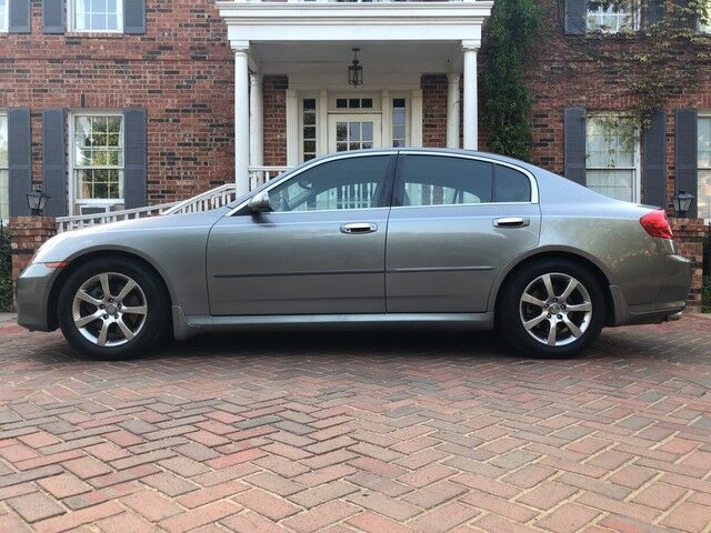 2005 INFINITI G35 Sedan 2-OWNERS EXCELLENT CONDITION BEST RIDE AND DRIVE MUST C! Arlington TX