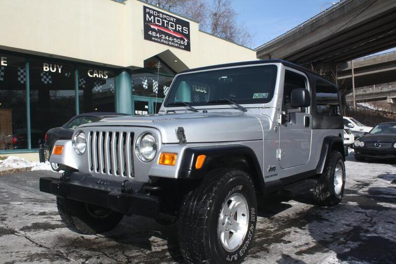 2005 JEEP WRANGLER / TJ UNLIMITED W Conshohocken PA