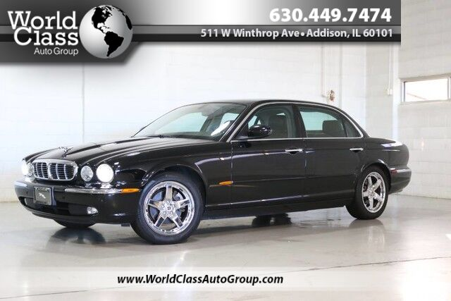 2005 Jaguar XJ XJ8 LWB - WOOD GRAIN INTERIOR POWER HEATED LEATHER SEATS SUN ROOF PARKING SENSORS REAR HEATED SEATS ALPINE AUDIO DUAL ZONE CLIMATE CONTROL Chicago IL