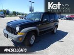 2005 Jeep Liberty Sport, A/C, Cruise Control. 4x4, Tow Package