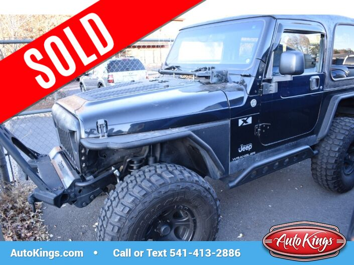2005 Jeep Wrangler 2dr X Bend OR