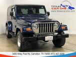 2005 Jeep Wrangler UNLIMITED 4WD AUTOMATIC HARD TOP CONVERTIBLE ALLOY WHEELS RUNNIN