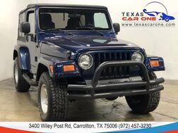 2005_Jeep_Wrangler_X 4WD SOFT TOP CONVERTIBLE ALLOY WHEELS RUNNING BOARDS_ Carrollton TX