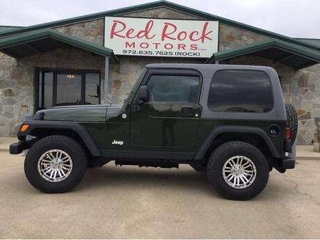 2005 Jeep Wrangler X Royse City TX