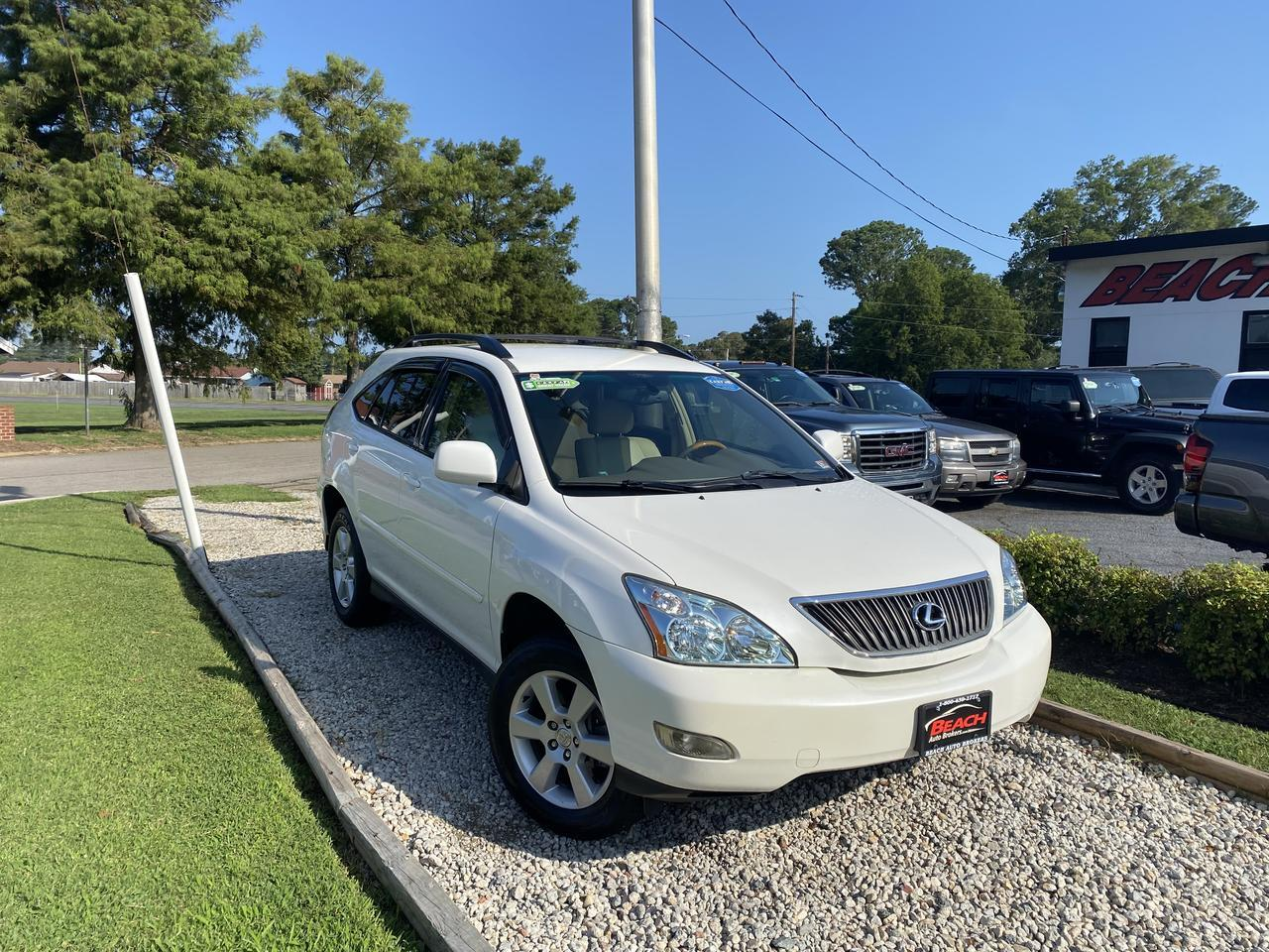 2005 LEXUS RX330 WARRANTY, SATELLITE RADIO, 6 DISC CD PLAYER,  CRUISE CONTROL, A/C, LOW MILES!