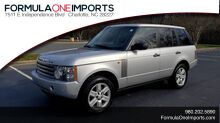 2005_Land Rover_RANGE ROVER_HSE / V8 / NAV / SUNROOF / HTD STS / HTD STRNG WHL_ Charlotte NC