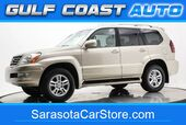 2005 Lexus GX 470 LEATHER DVD WHEELS 4x4 3RD ROW SEAT 1FL OWNER !!