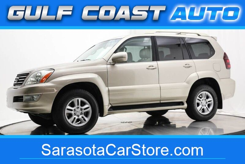 2005_Lexus_GX 470_LEATHER DVD WHEELS 4x4 3RD ROW SEAT 1FL OWNER !!_ Sarasota FL