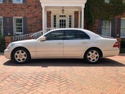 2005_Lexus_LS 430_2-owners GORGEOUS PEARL WHITE IMMACULATE CONDITION Park Place Lexus trade MUST C!_ Arlington TX