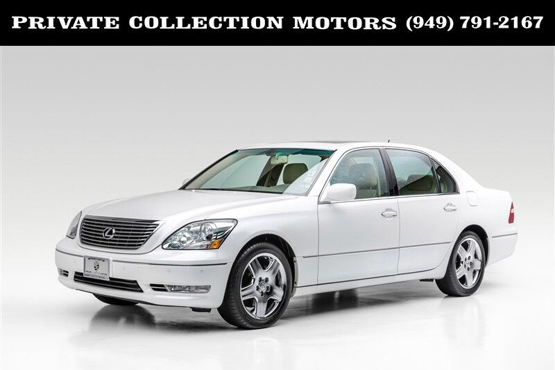 2005_Lexus_LS 430_One Owner Clean Carfax_ Costa Mesa CA