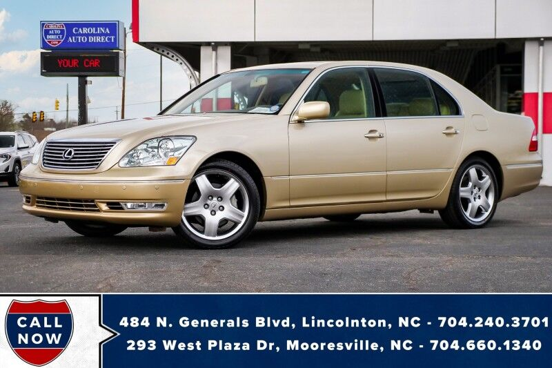 2005 Lexus LS 430 w/ Heated Seats + Vented Front Seats *New Tires*Low Miles* Mooresville NC