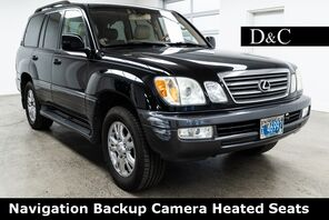 2005_Lexus_LX_470 Navigation Backup Camera Heated Seats_ Portland OR