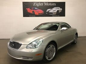Lexus SC 430 Convertible Navigation Mark Levinson Low miles Clean Carfax 2005