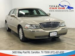 2005_Lincoln_Town Car_SIGNATURE AUTOMATIC REAR PARKING DISTANCE CONTROL LEATHER SEATS_ Carrollton TX