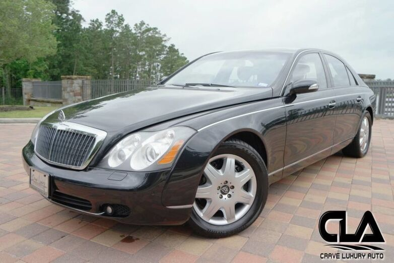 2005 Maybach 57  The Woodlands TX