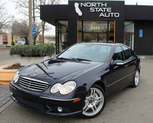 2005_Mercedes-Benz_C-Class_5.5L AMG_ Walnut Creek CA
