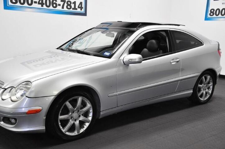 2005 Mercedes-Benz C-Class C230 KOMPRESSOR 95K MILES PANO ROOF HOMELINK DUAL AC ALLOYS Houston TX