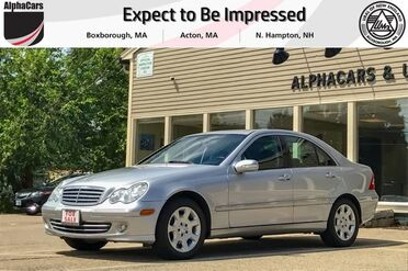 2005_Mercedes-Benz_C240_4Matic Luxury Sedan_ Boxborough MA