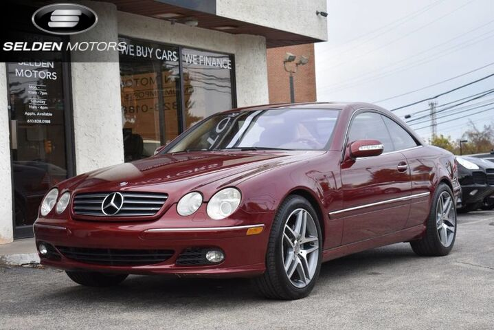 2005_Mercedes-Benz_CL600_5.5L_ Conshohocken PA