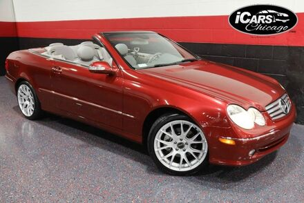 2005_Mercedes-Benz_CLK320_2dr Convertible_ Chicago IL