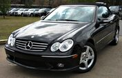 2005 Mercedes-Benz CLK500 ** CONVERTIBLE ** - w/ NAVIGATION & LEATHER SEATS