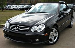 Mercedes-Benz CLK500 ** CONVERTIBLE ** - w/ NAVIGATION & LEATHER SEATS 2005