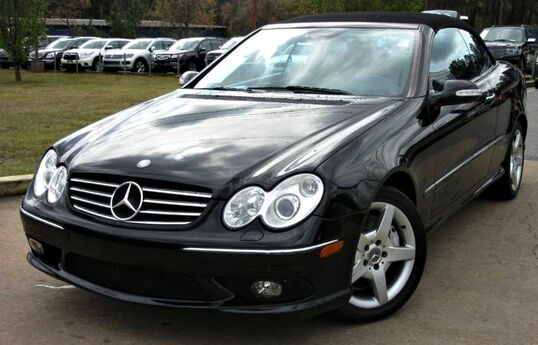 2005 Mercedes-Benz CLK500 ** CONVERTIBLE ** - w/ NAVIGATION & LEATHER SEATS Lilburn GA