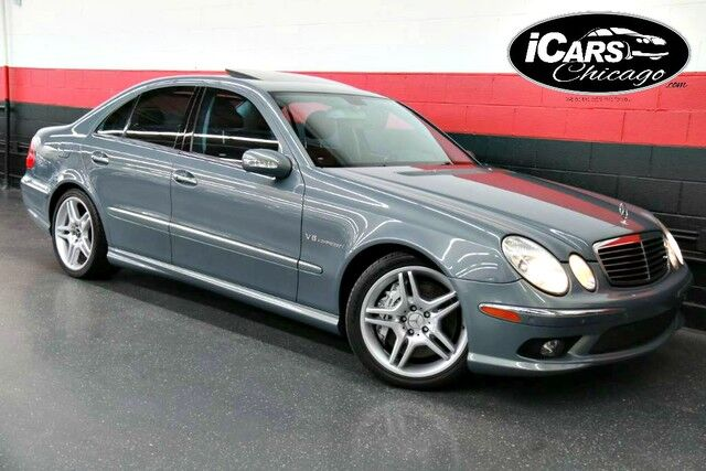 2005 mercedes benz e55 amg 4dr sedan skokie il 17747767. Black Bedroom Furniture Sets. Home Design Ideas