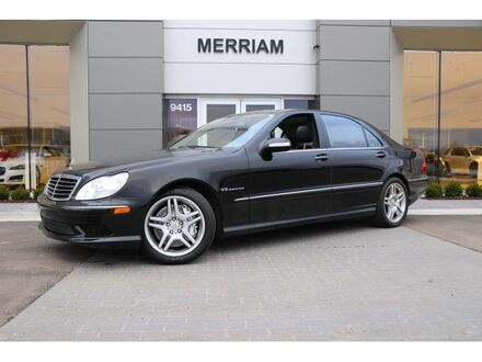 2005_Mercedes-Benz_S-Class_S 55 AMG®_ Merriam KS