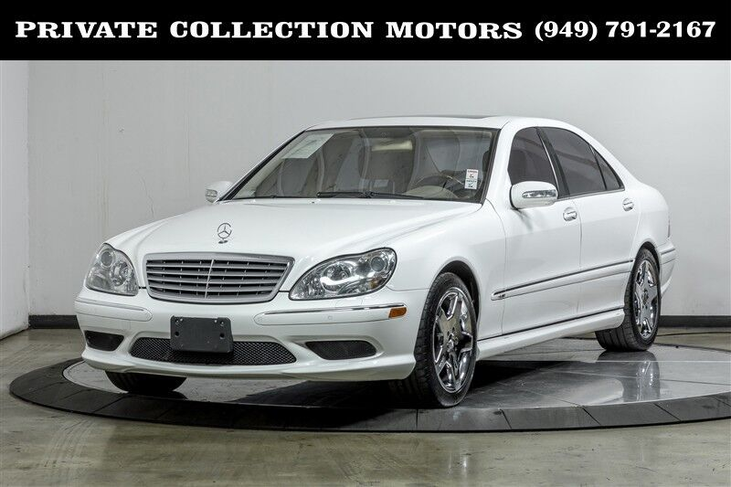 2005_Mercedes-Benz_S-Class_S600 5.5L Two Owner Rare Find_ Costa Mesa CA