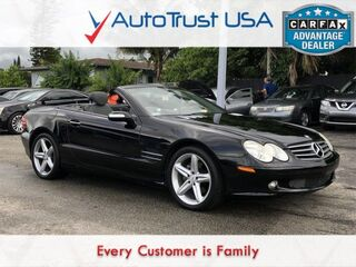 Mercedes-Benz SL-Class SL 500 CLEAN CARFAX NAV LOW MILES BLUETOOTH FULLY LOADED 2005