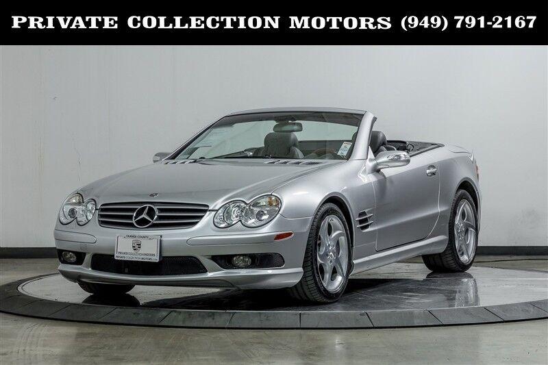 2005_Mercedes-Benz_SL-Class_SL500 5.0L_ Costa Mesa CA
