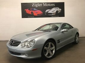 Mercedes-Benz SL500 5.0L 1-Owner low miles PRISTINE. KEYLESS GO. Vent/Htd Seats 2005