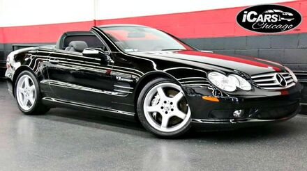 2005_Mercedes-Benz_SL55 AMG_2dr Convertible_ Chicago IL