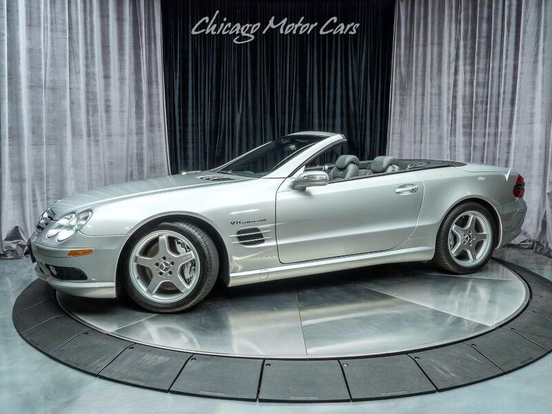 2005_Mercedes-Benz_SL55_AMG Convertible_ Chicago IL