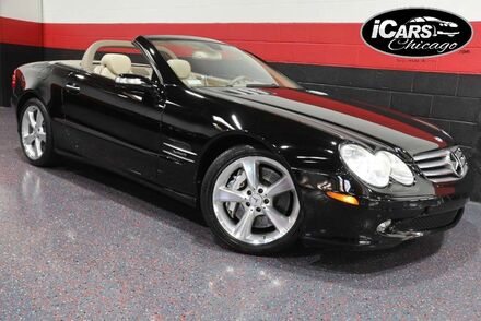 2005_Mercedes-Benz_SL600_2dr Convertible_ Chicago IL