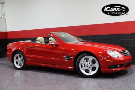 2005_Mercedes-Benz_SL600_AMG Sport V12 2dr Convertible_ Chicago IL