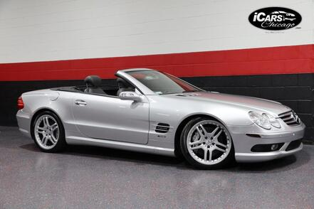 2005_Mercedes-Benz_SL600 AMG Sport_V12 2dr Convertible_ Chicago IL