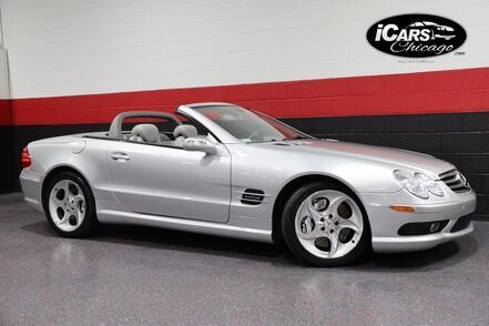 2005_Mercedes-Benz_SL600_AMG Sport V12 2dr Convertible_ Chicago IL