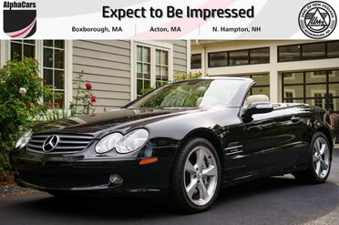 2005_Mercedes-Benz_SL600_Roadster_ Boxborough MA